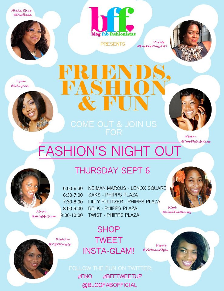 Blog Fab Fashionistas FNO 2012