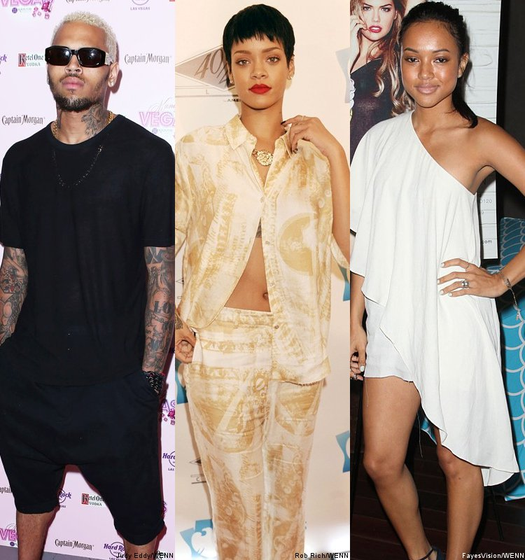 Rhianna and Chris Brown back together?