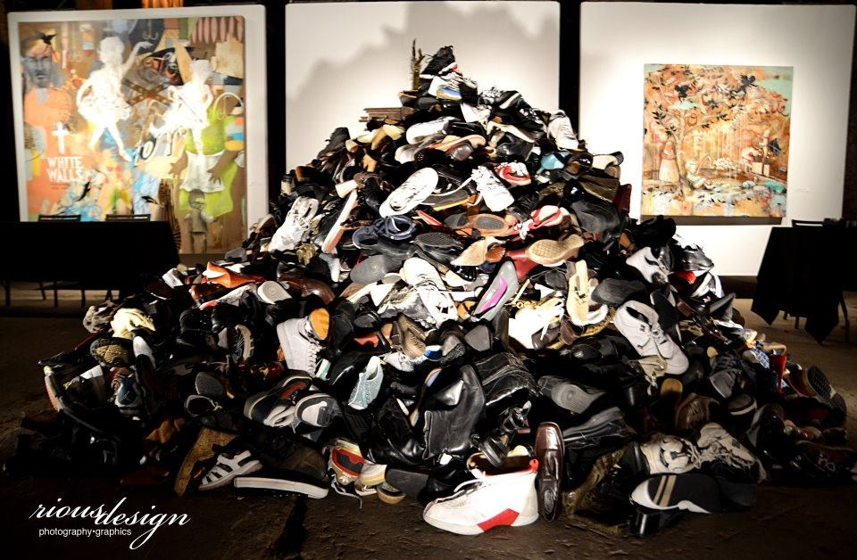 Collecting Shoes to Help Homelessness Sneaker Ball
