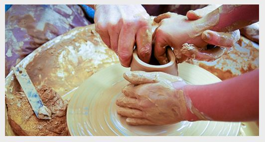 great date deals 2 hour class at Zen and Now Clay Studio